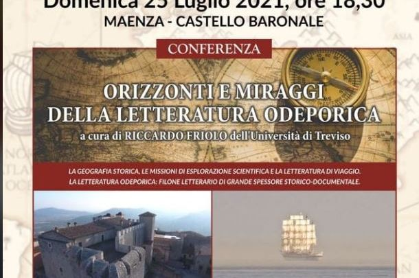 La letteratura odeoporica del viaggio al castello baronale di Maenza