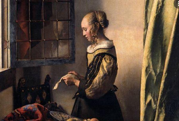 La ragazza che legge la lettera