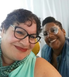 with Gwladys, blogger at Hair Related