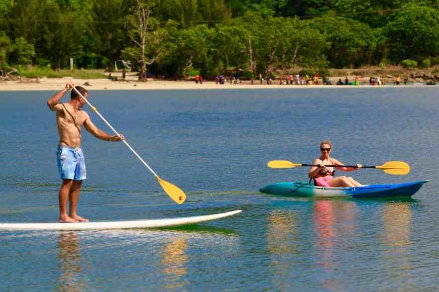Fatumaru activities - kayak and Paddle