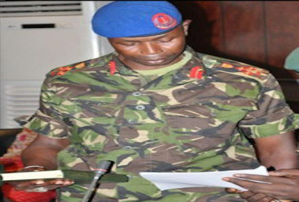 Former General Saul Badgie's Wife Detained
