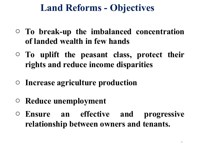 Land reforms can prevent conflict between farmers and pastoralist in West Africa