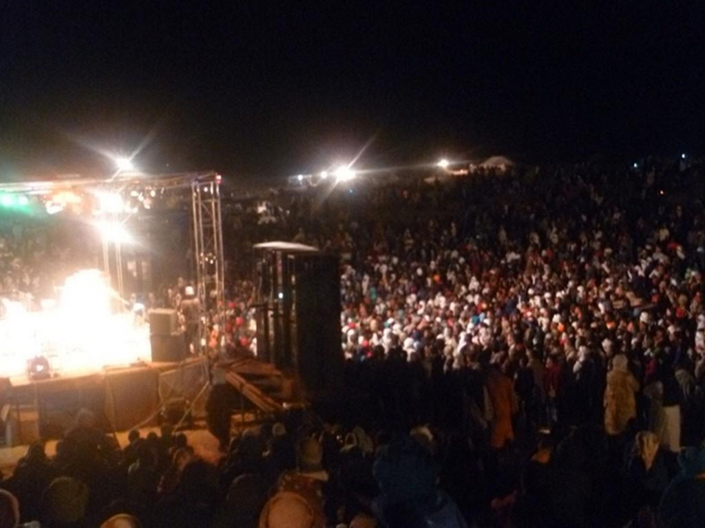Festival au desert