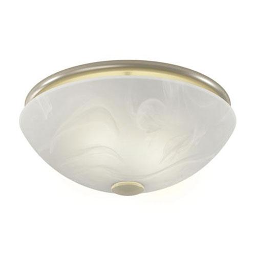 nutone 773bnnt brushed nickel 80cfm decorative bathroom exhaust fan with light