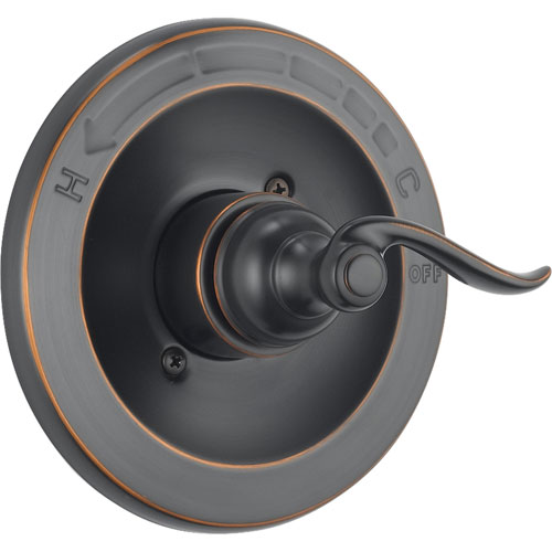 delta windemere oil rubbed bronze monitor 14 shower control includes valve d002v