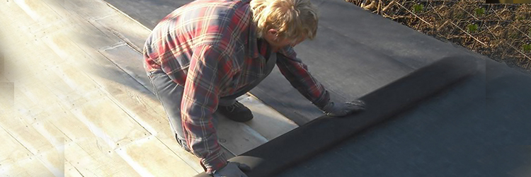 EPDM (Rubber Membrane) Rolled Roofing