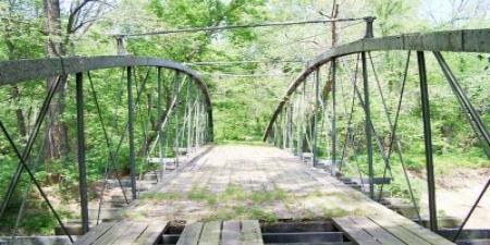Springfield-Des Arc Bridge, Faulkner County, Arkansas circa 1890