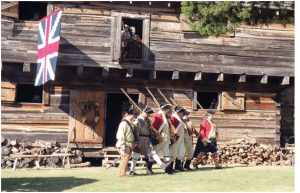 The 16th Regiment of Foote at the Cadron Blockhouse, Faulkner County Arkansas (as published in the Arkansas Democrat-Gazette 10/12/14)