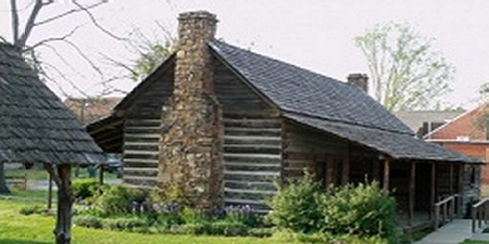 Dog Trot Cabin, Faulkner County Arkansas