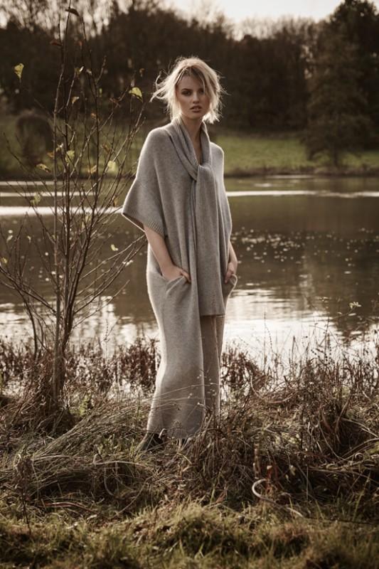 Cashmere dress: Joseph Boots: Hunter