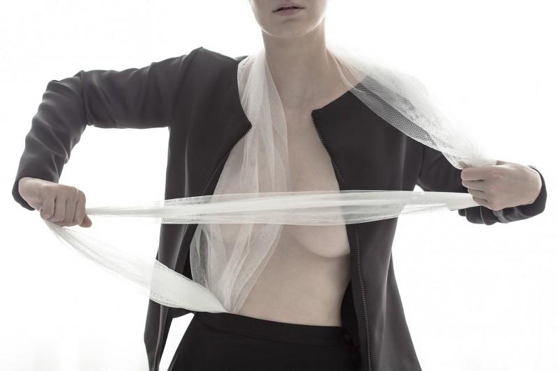 Jacket: The B Skirt: Yohji Yamamoto