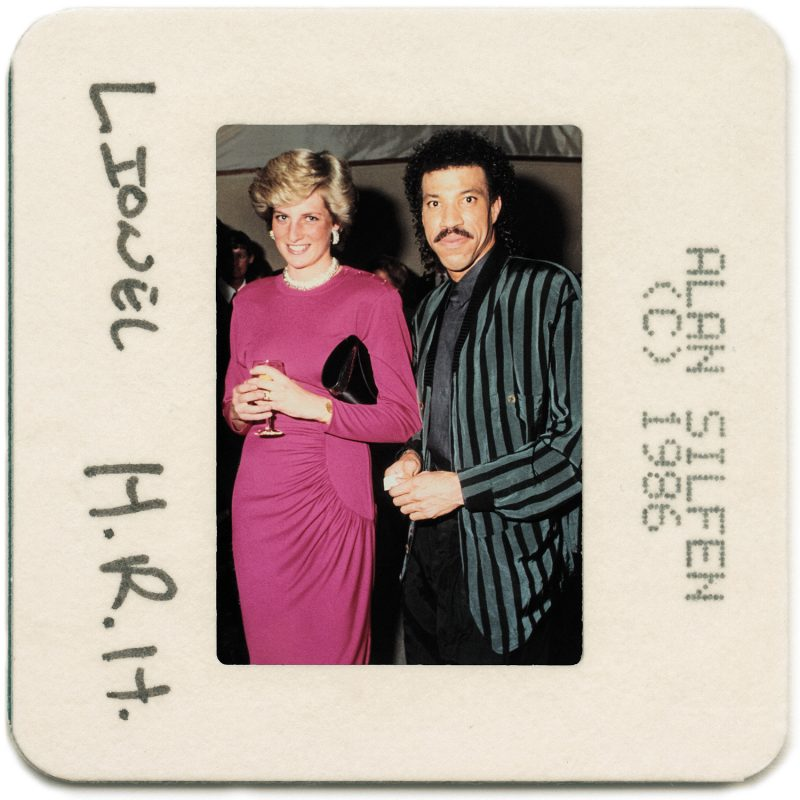 Princess Diana and Lionel Richie - Photo courtesy Alan Silfen