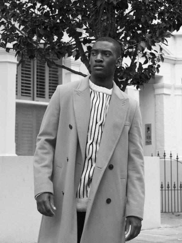 Jumper and jacket - Hugo Boss / Jeans - BLK DNM / Shoes - Harrys of London