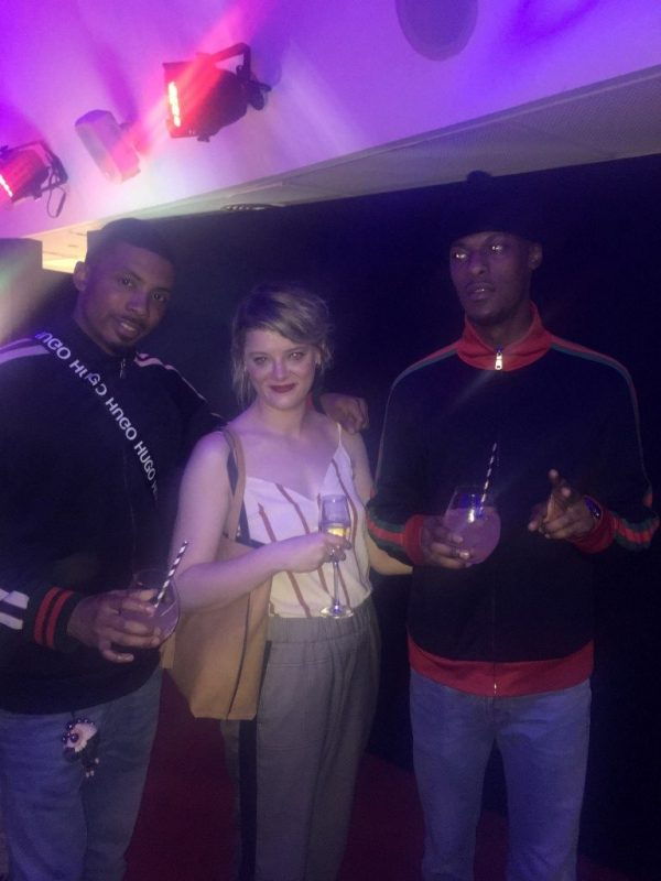 Flora Neighbour with KC and Jordon Wi-Fi from Last Night in Paris
