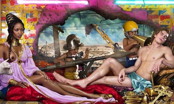 David LaChapelle The Rape of Africa