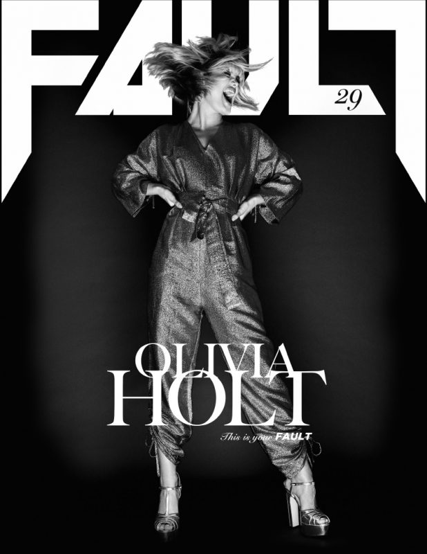 Olivia Holt - FAULT Magazine Issue 29 - Screen section cover