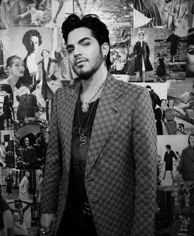 Adam Lambert fault magazine