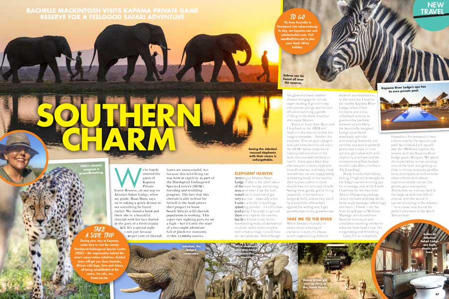 New Travel Southern Charm