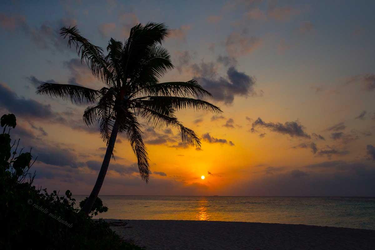 haapai tonga pacific islands sunset