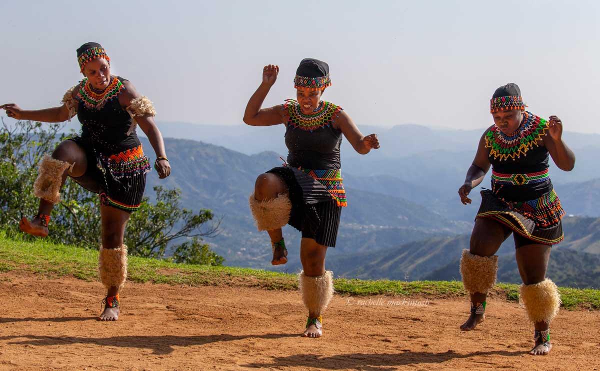 zulu warrior women dance durban