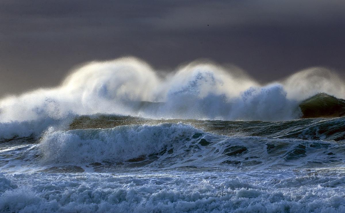 storm morning maroubra beach sydney