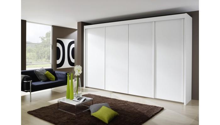 armoire 4 portes coulissantes longueur 350 cm