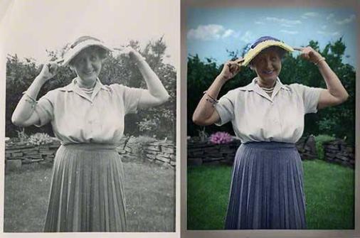 Photo Restoration & Colorization