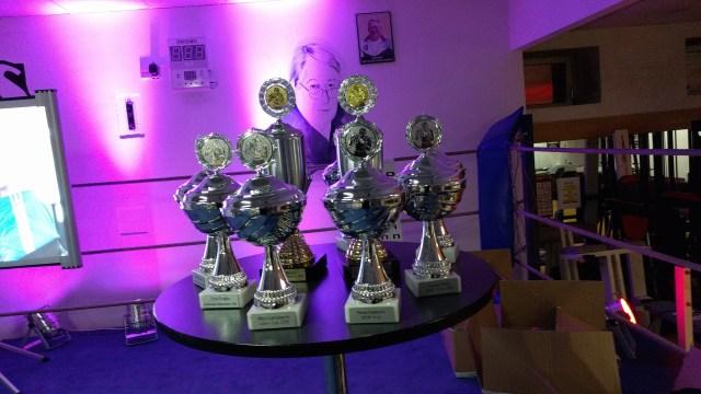 Pokale für die Wettkämpfer - und Gedenken an Alfred Sauer