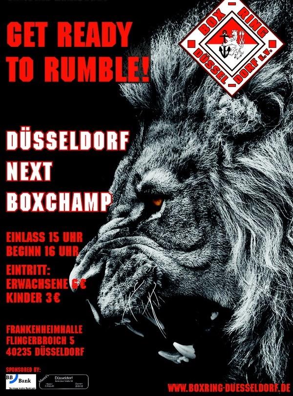 11. Düsseldorfer next Boxchamp 2018