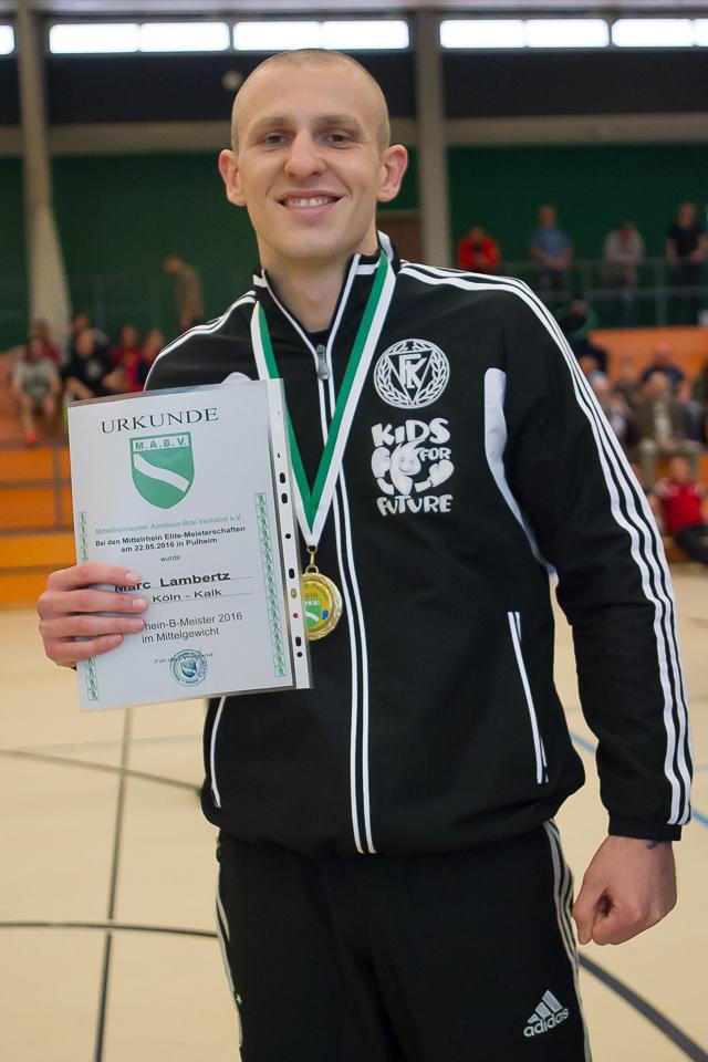 Marc Lambertz - Mittelrheinmeister 2016
