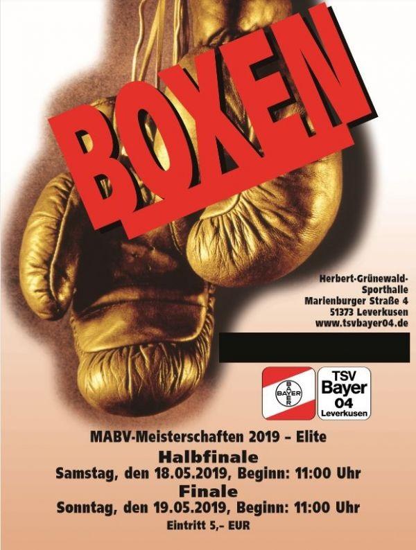 7 Faustkämpfer bei der MABV-Meisterschaft Elite 2019