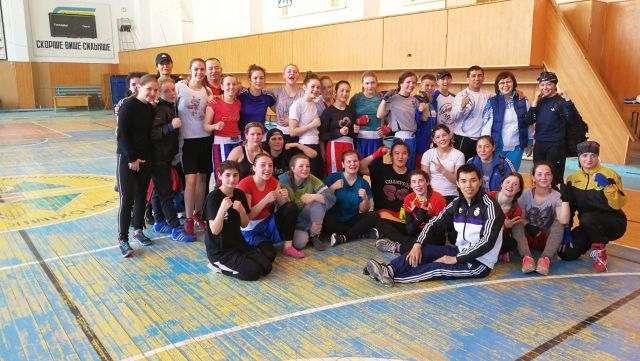Sahika Bostan - Trainingscamp Ukraine
