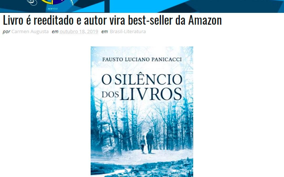 """Confraria Cultural Brasil -Publica sobre o livro """"O Silêncio dos Livros"""""""