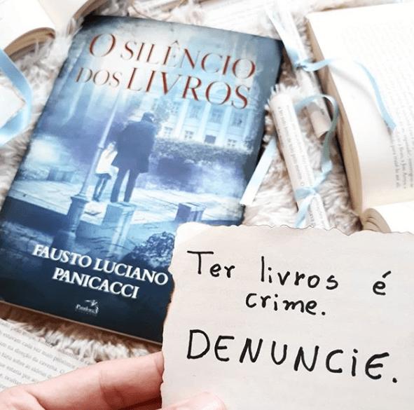 """Resenha do IG @lendocomotempo sobre meu livro """"O Silêncio dos Livros"""""""