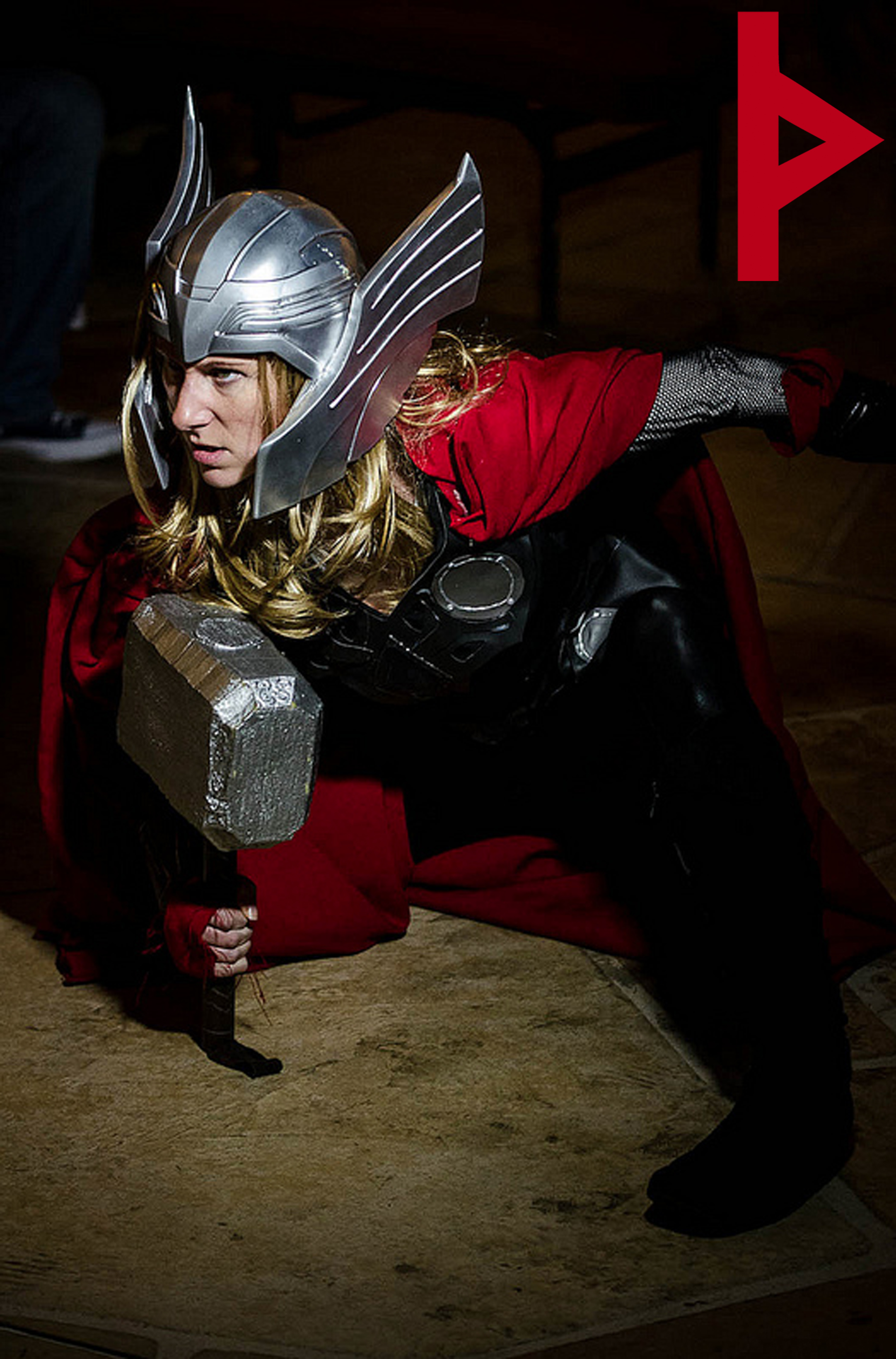 Female Thor FAUSTUS CROW