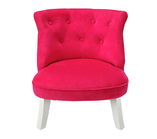 fauteuil crapaud rose fauteuil