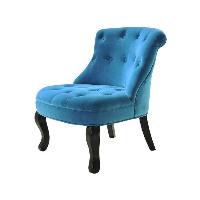 fauteuil crapaud bleu fauteuil