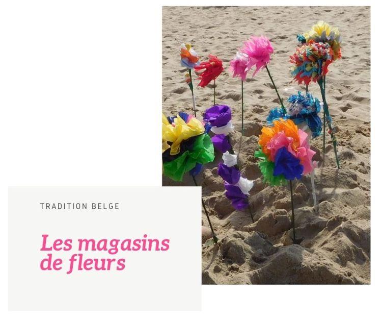 Magasin de fleurs tradition plages belges