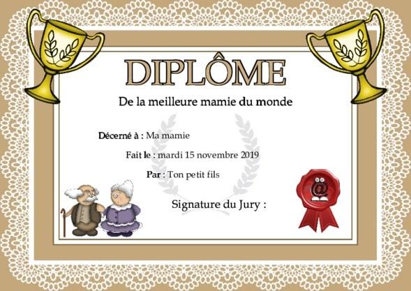 Faux Diplomes A Imprimer Gratuitement