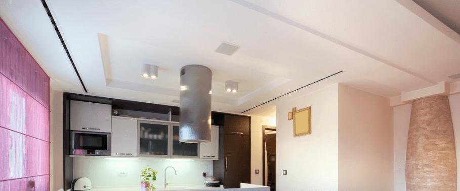 Best Faux Plafond De Cuisine Tendu With Eclairage Faux