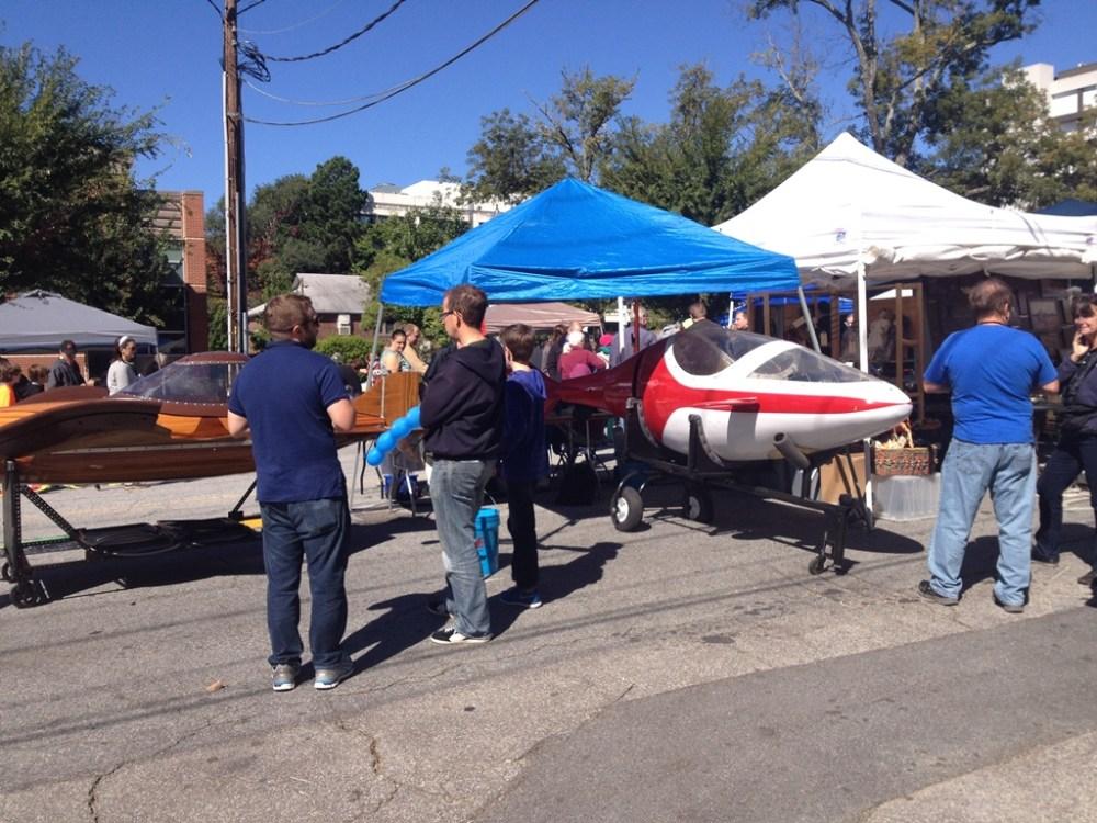 Bogus Batoid and Faux Fish at Maker Faire Atlanta 2014 in Decatur, GA (4/6)