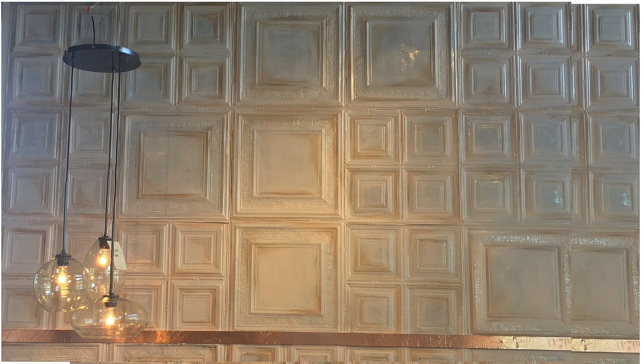 West Elm Tin Ceiling Tiles