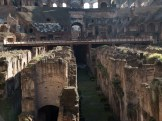 """The lower levels where gladiators (living and dead) would wait to fight or wait to be washed away (see the series """"Spartacus"""" for more detail)."""