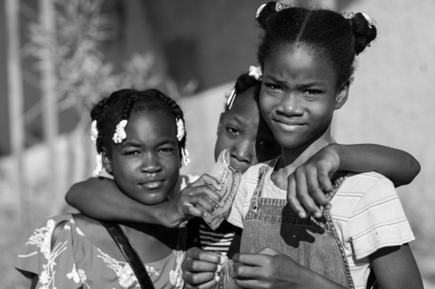 After taking their picutures, the girls introduced me to another friend that wanted her photo taken.