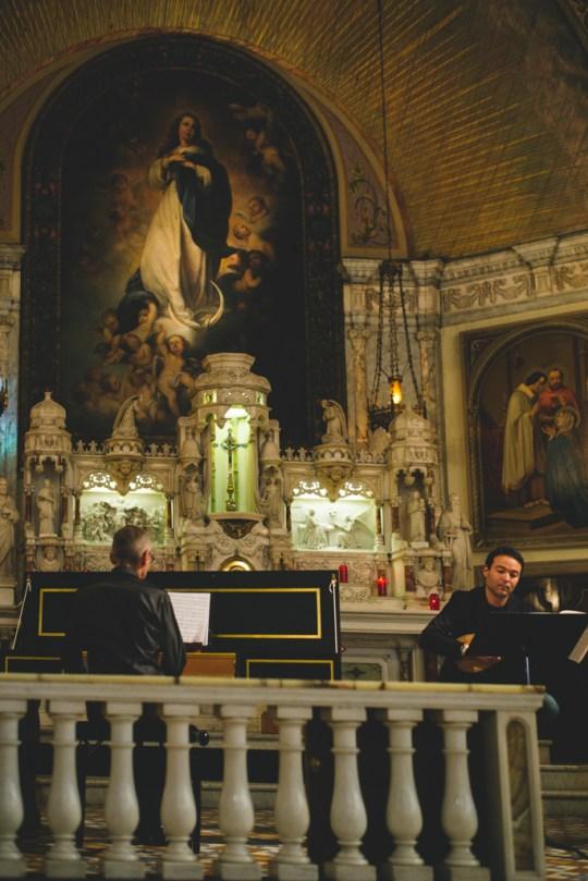 Italian Baroque music concert at Chapelle Notre-Dame-de-Bon-Secours