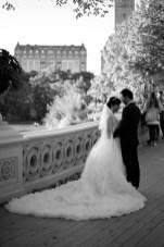 """Bow Bridge Wedding 2"". Leica M-P, Summilux 50mm"