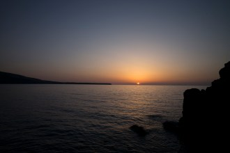 """Santorini Sunset - You be the judge whether or not it can be deemed """"famous""""."""