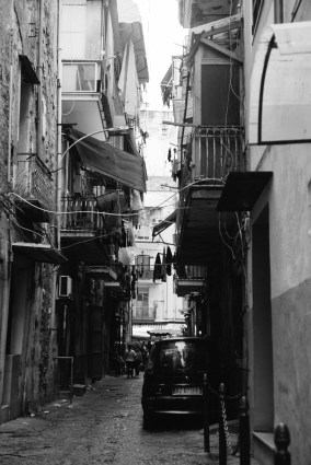 Naples - Typical street view