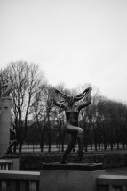 An evocative statue at Vigeland Park