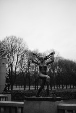 An evocative statue at Vigeland Park